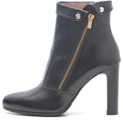 Ankle boot con zip Nero Giardini autunno inverno 2017