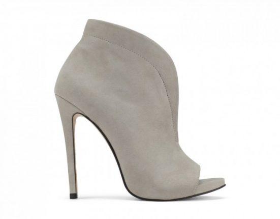 Ankle boot grigi Aldo scarpe autunno inverno 2015