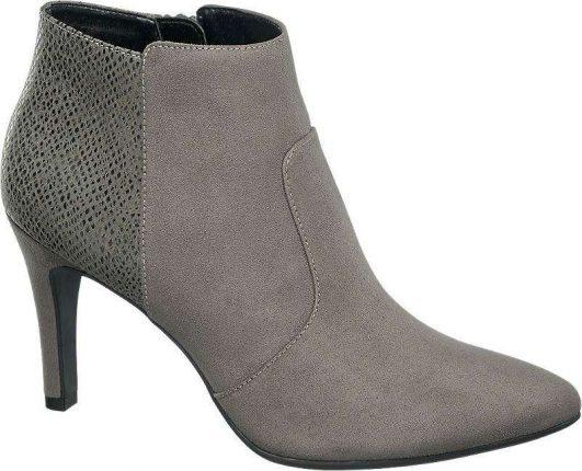 Ankle boot grigi Deichmann autunno inverno 2017