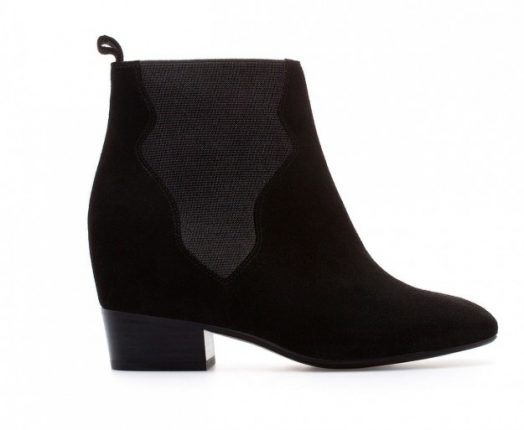 Ankle boot in suede Zara autunno inverno 2013 2014