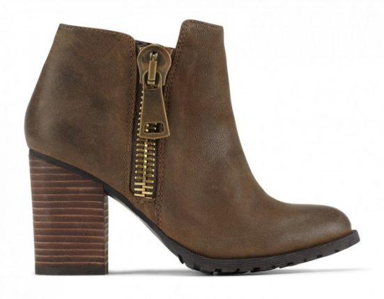 Ankle boot marroni Aldo scarpe autunno inverno 2015