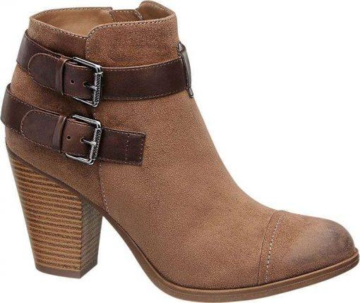 Ankle boot marroni Deichmann autunno inverno 2017