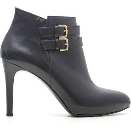 Ankle boot neri con tacco Nero Giardini autunno inverno 2017