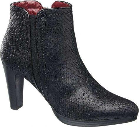 Ankle boot neri Deichmann autunno inverno 2017