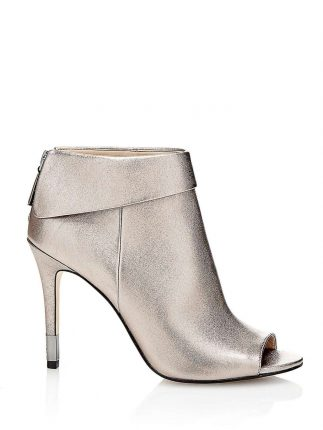 Ankle boot peep toe oro Guess autunno inverno 2017