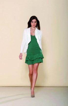 Artigli abito verde Primavera Estate