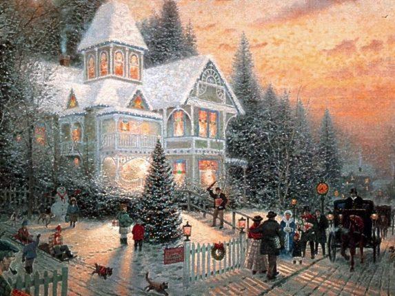 Auguri nel giorno di Natale
