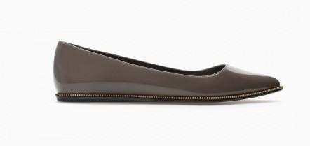 Ballerine a punta Zara scarpe autunno inverno 2015