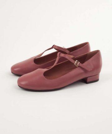 Ballerine a T rosa antico Lazzari autunno inverno 2017