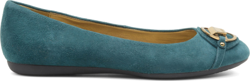Ballerine camoscio Geox scarpe autunno inverno 2015