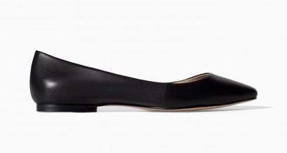 Ballerine nere Zara scarpe autunno inverno 2015