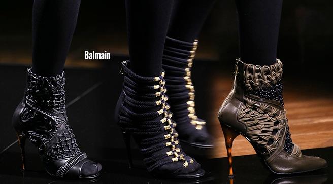 Balmain scarpe catalogo autunno inverno 2014 2015