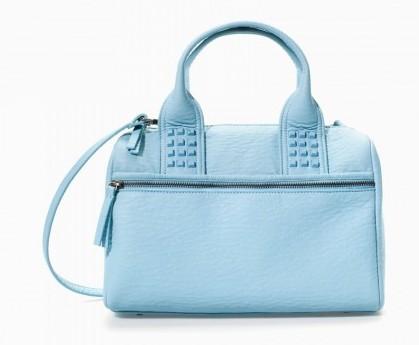 Bauletto con borchie Zara borse autunno inverno 2015