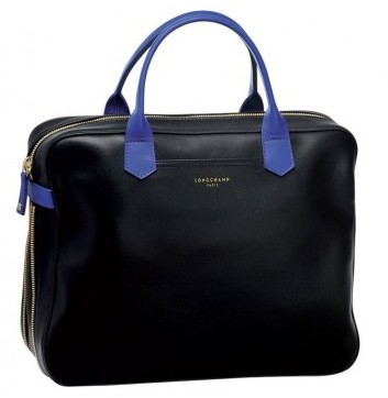 Bauletto nero Longchamp