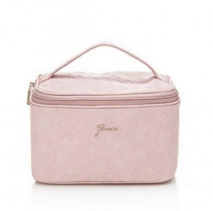 Beauty case rosa cipria