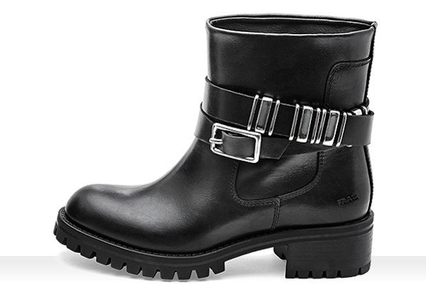 Biker boots Frau scarpe autunno inverno 2014 2015