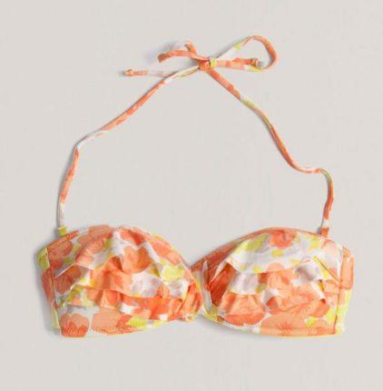 Bikini a fascia Oysho fantasia floreale estate 2013