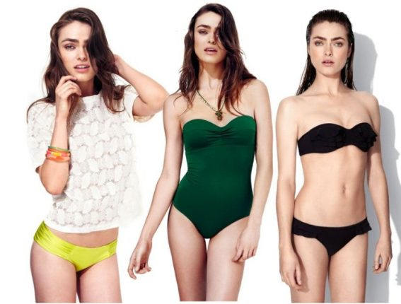 Bikini e costume intero Oysho estate 2013