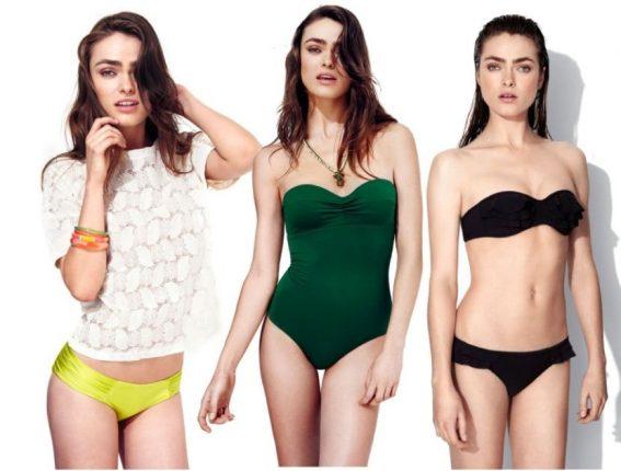 Bikini e costume intero Oysho estate 2013