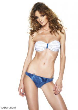 Bikini fascia coppe estraibili Denim Parah estate 2013
