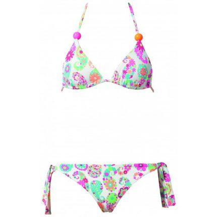 Bikini fiorito regiseno a triangolo Calzedonia