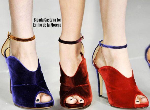 Bionda Castana scarpe catalogo autunno inverno 2014 2015