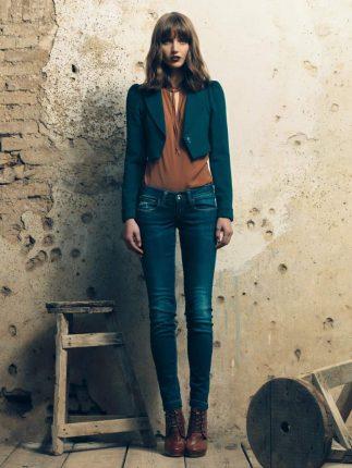 Blazer jeans Fornarina autunno inverno 2015