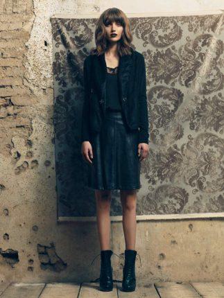 Blazer nero Fornarina autunno inverno 2015