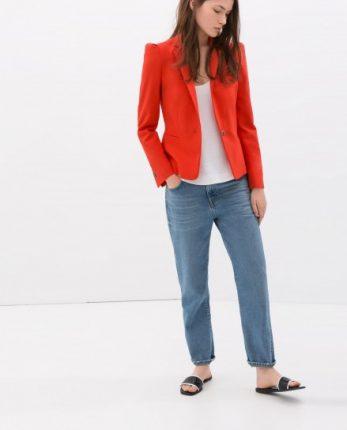 Blazer Zara autunno inverno 2014 2015