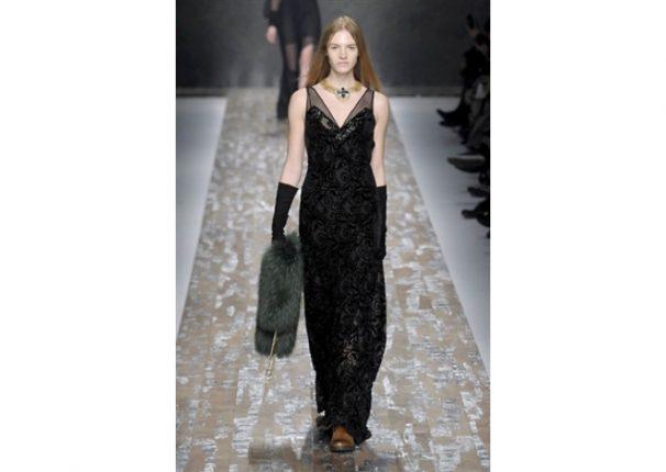 Blugirl collezione autunno inverno 2013 2014 abito nero