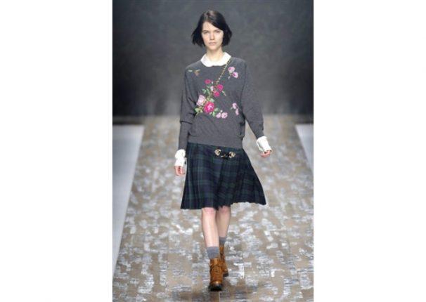 Blugirl collezione autunno inverno 2013 2014 maglione stampato