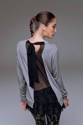 Blus con schiena scoperta Denny Rose autunno inverno 2015