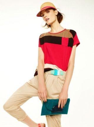 Blusa colorata Pennyblack primavera estate 2013
