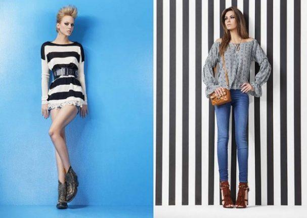 Blusa e jeans Denny Rose primavera estate 2013
