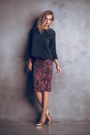 Blusa elegante Denny Rose autunno inverno 2015