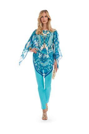 Blusa fulard Luisa Spagnoli primavera estate