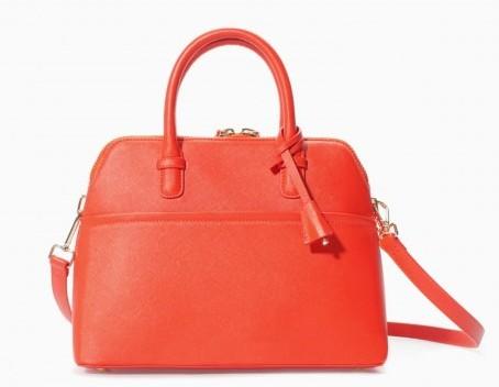 Borsa rossa Zara borse autunno inverno 2015