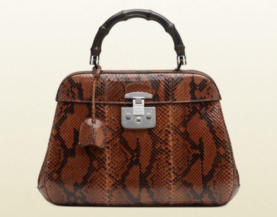Borse Gucci autunno inverno 2013 2014 handbag pitone degrade