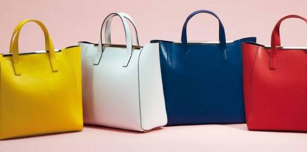 Borse shopper colorate Coccinelle primavera estate 2014