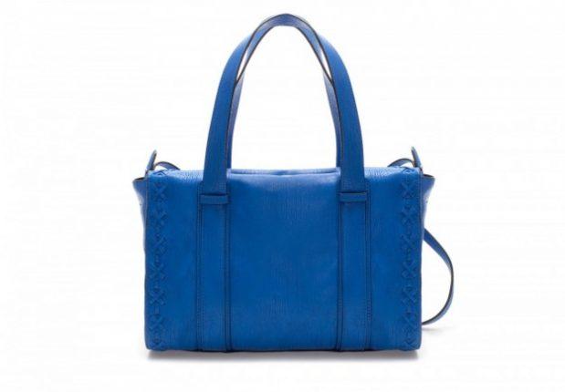 Borse Zara autunno inverno 2013 2014 bauletto blu