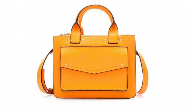 Borse Zara autunno inverno 2013 2014 city bag gialla