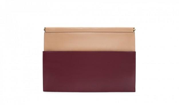 Borse Zara autunno inverno 2013 2014 clutch bicolor