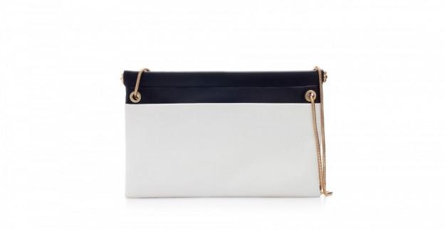 Borse Zara autunno inverno 2013 2014 clutch con catena