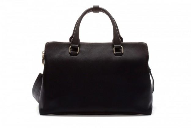 Borse Zara autunno inverno 2013 2014 handbag nera pelle