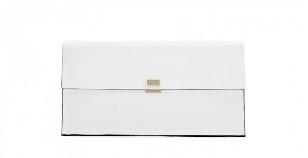 Borse Zara autunno inverno 2013 2014 pochette bianca