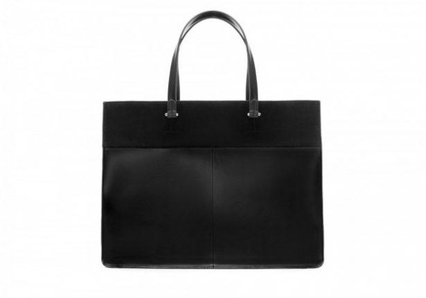 Borse Zara autunno inverno 2013 2014 shopper rettangolare nera