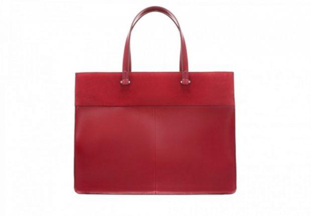 Borse Zara autunno inverno 2013 2014 shopper rossa