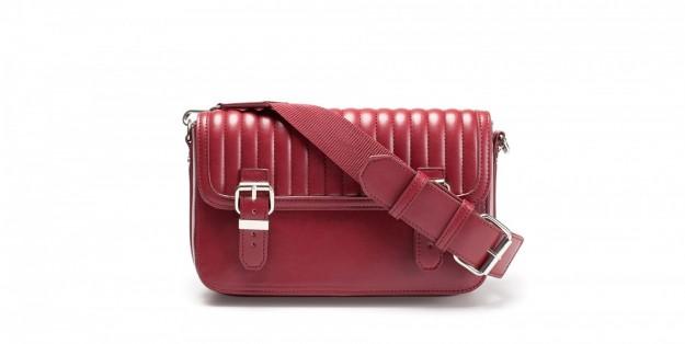 Borse Zara autunno inverno 2013 2014 tracolla rossa