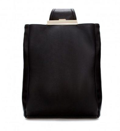 Borse Zara autunno inverno 2013 2014 zaino nero
