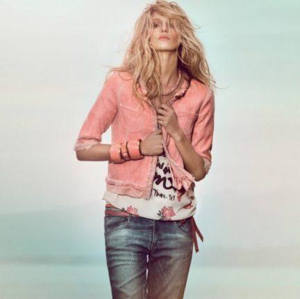 Bouclé jacket e jeans Twin Set primavera estate 2013